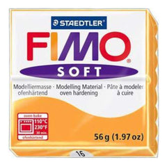 Fimo Soft Polymer Clay 2 Ounces - Mandarin