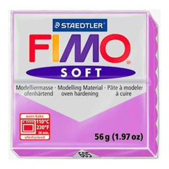 Fimo Soft Polymer Clay 2 Ounces - Raspberry