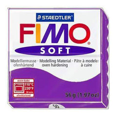 Fimo Soft Polymer Clay 2 Ounces - Violet