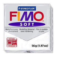 Fimo Soft Polymer Clay 2 Ounces - White