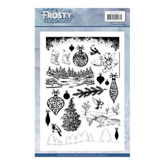 Find It - Jeanines Art - Clear Stamps - Frosty Ornaments
