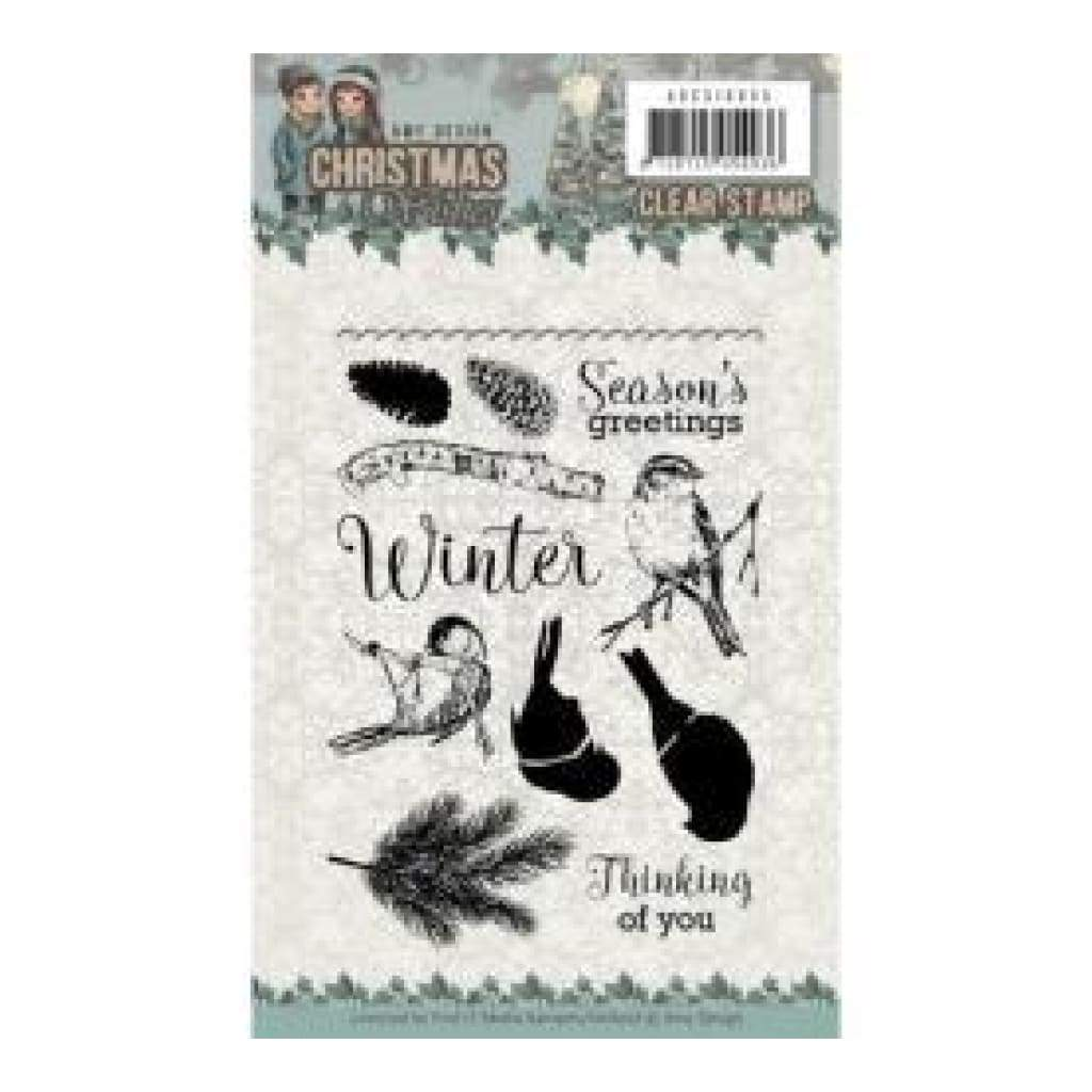 Find It Trading Amy Design Clear Stamps Birds