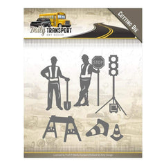 Find It Trading Amy Design Daily Transport Die Road Construction