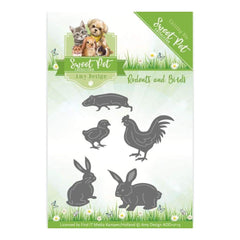 Find It Trading Amy Design Sweet Pet Die Birds, Hamsters & Guinea Pigs