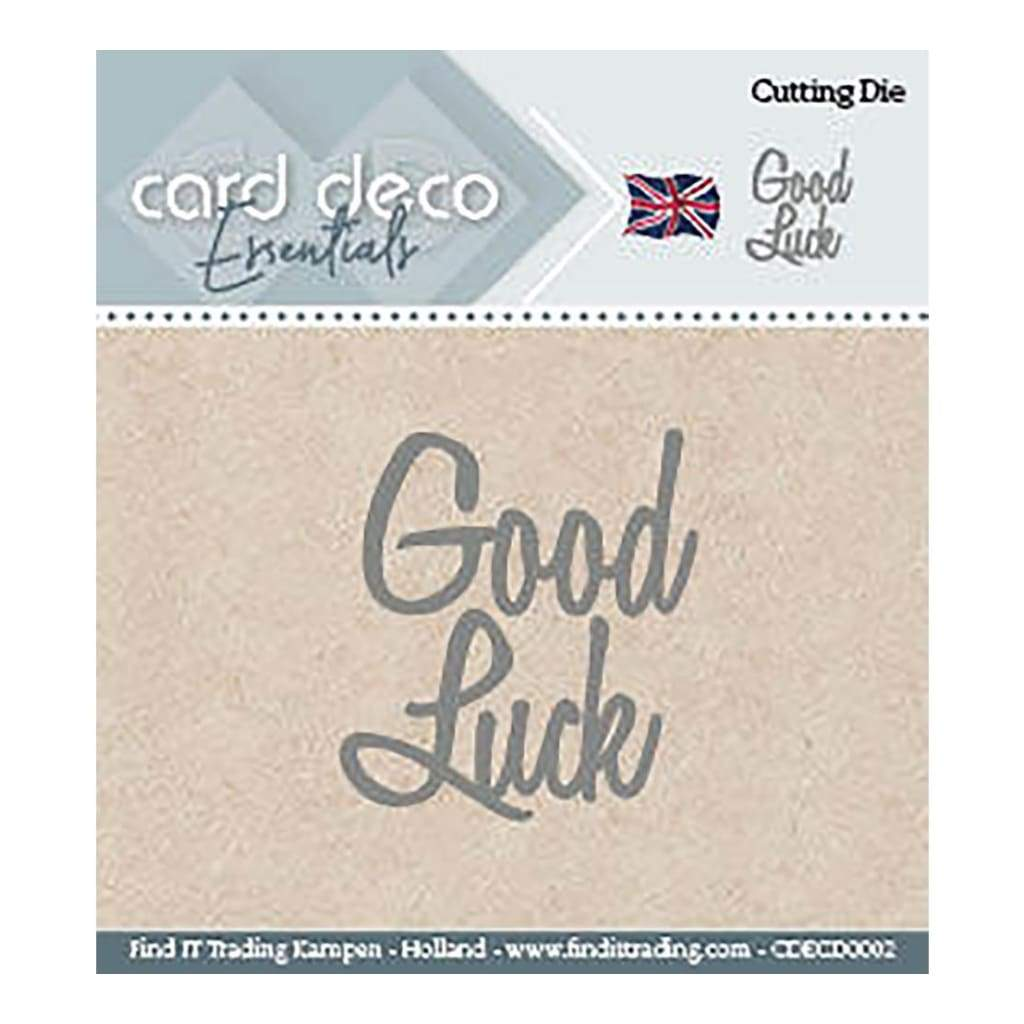 Find It Trading - Card Deco Dies Good Luck