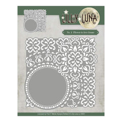 Find It Trading Lilly Luna Die Flowers To Love, 5.1inch X5.1inch