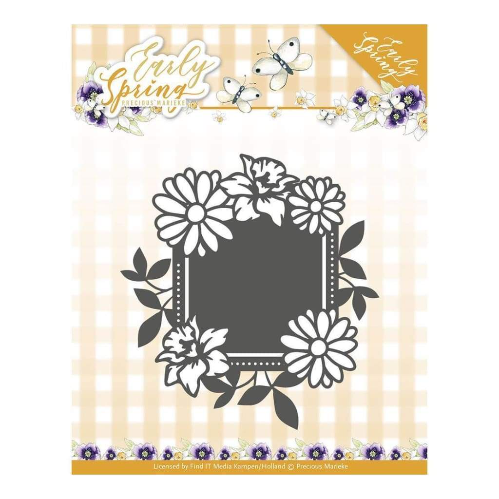 Find It Trading Precious Marieke Early Spring Die Spring Flowers Square Label