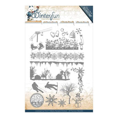 Find It Trading Precious Marieke Winterfun Clearstamp 20 pack