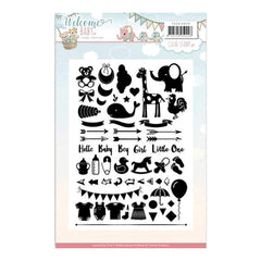 Find It Trading Yvonne Creations Clear Stamps Welcome Baby