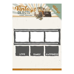 Find It Trading Yvonne Creations Vintage Objects Die - Film Strip