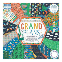 First Edition Paper Pack 8inch X8inch 48 pack Grand Plans