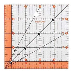 Fiskars Quilting Ruler 4-1/2In.X4-1/2In.