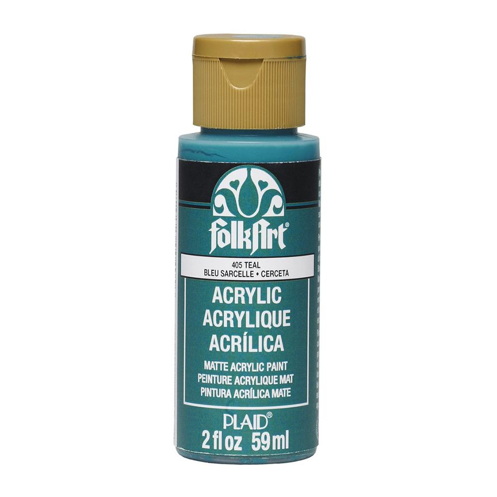 FolkArt Acrylic Paint 2oz - Teal