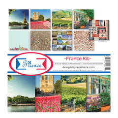 Reminisce Collection Kit 12 inchX12 inch France