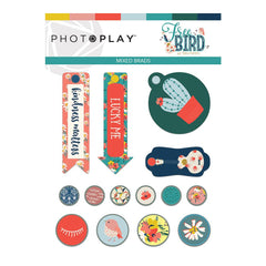 Photo Play Paper - Free Bird Collection - Brads