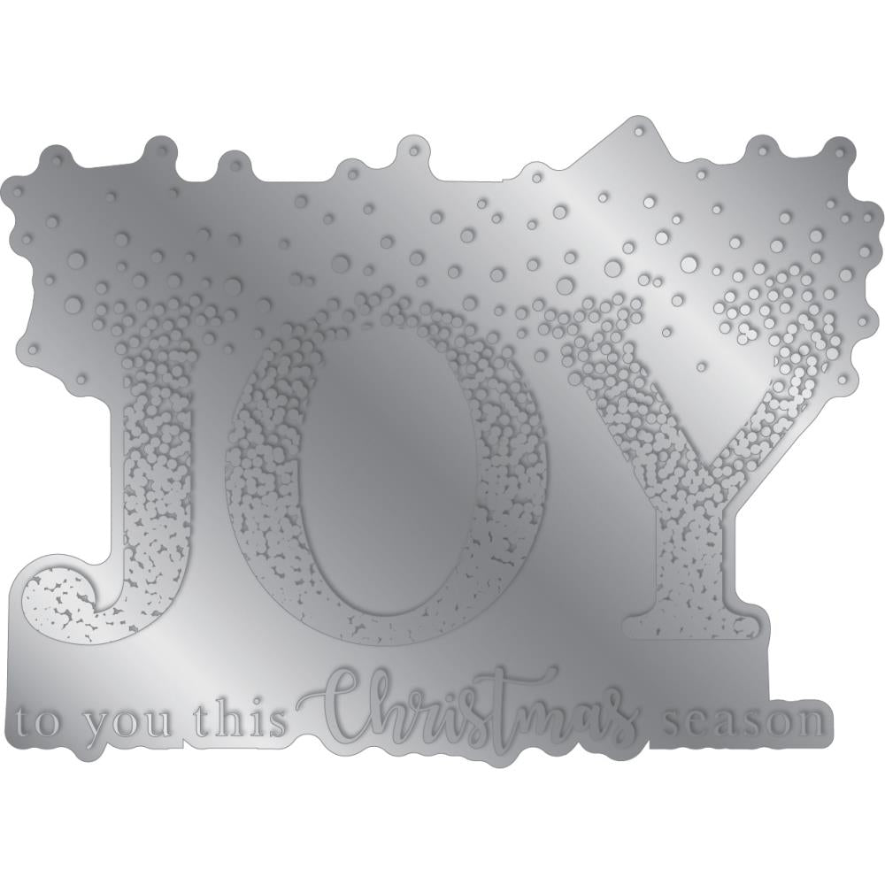 Crafter's Companion - Gemini Foilpress Stamp Die Expressions - Christmas Joy