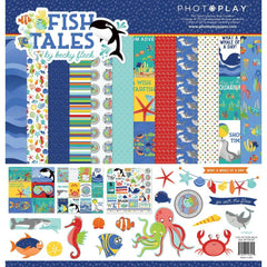 PhotoPlay Collection Pack 12 inch X12 inch Fish Tales