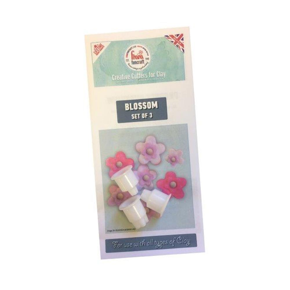 FMM Funcraft Cutters - Blossom Set of 3