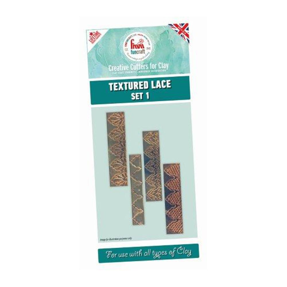 FMM Funcraft Cutters - Textured Lace Set 1