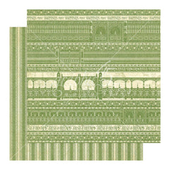 Graphic 45 - Bloom Double-Sided Cardstock 12X12in Single Sheet - Garden Gate