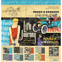 Graphic 45 - Collection Pack 12 inch X12 inch Graphic 45 - Life's A Journey