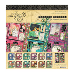 Graphic 45 - Collection Pack 12in x 12in - Fashion Forward