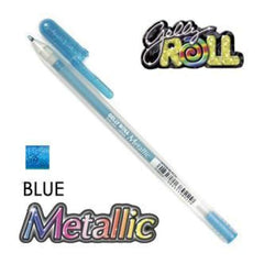 Gelly Roll Pens Metallic - Blue