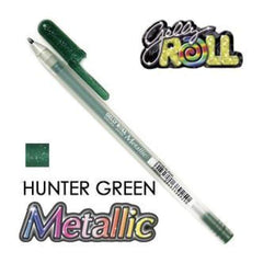 Gelly Roll Pens Metallic - Hunter Green