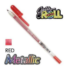 Gelly Roll Pens Metallic Red
