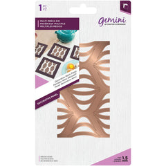 Crafters Companion Gemini Multi-Media Dies - Decorative Retro Panel - 2.3in x 4.2in.