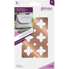 Crafters Companion Gemini Multi-Media Dies - Decorative Mosiac Panel - 2.7in 4.2in