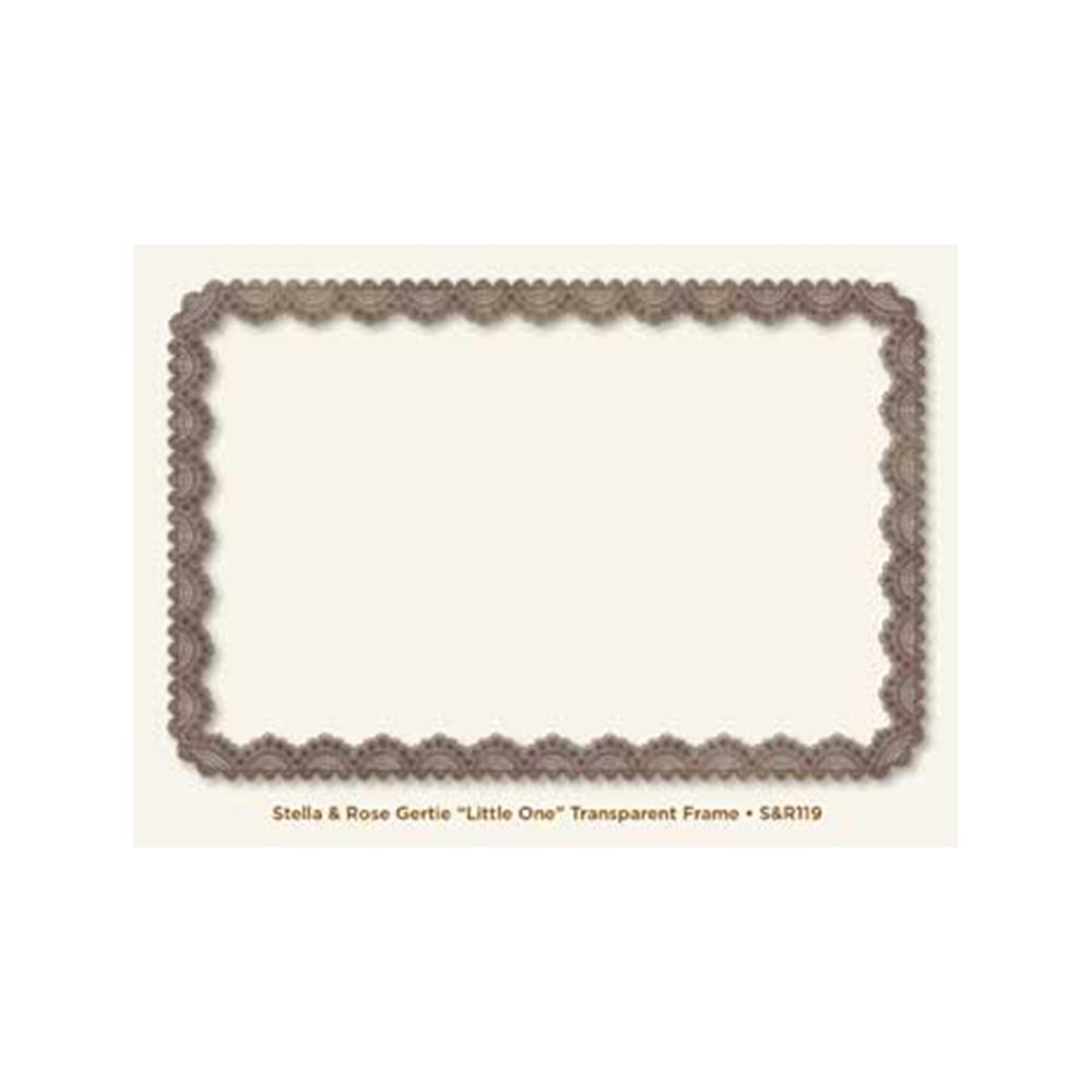 My Minds Eye - Stella & Rose Gertie Frame - Transparent Little One