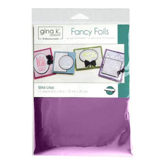 Gina K Designs Deco Foil 6inch X8inch 12 pack Wild Lilac