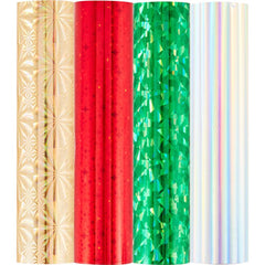 Spellbinders Glimmer Foil Variety Pack 4 pack - Holiday