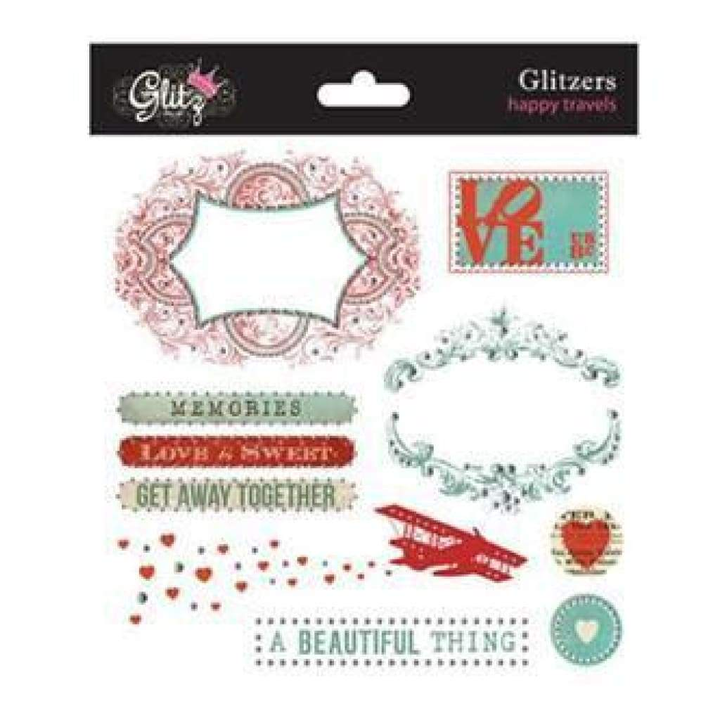 Glitz Designs - Happy Travels - Glitzers