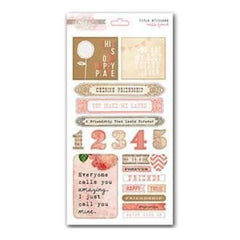 Glitz Designs - Hello Friend - Cardstock Title Stickers
