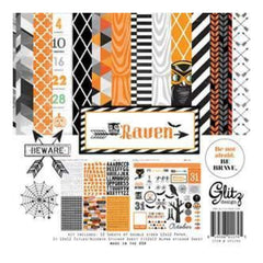 Glitz Designs - Raven - 12X12 Collection Kit
