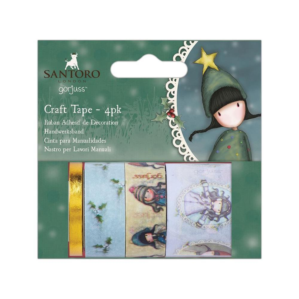 Santoros Gorjuss Craft Tape 4 pack