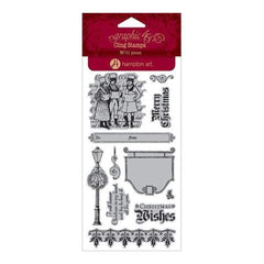 Graphic 45  - Graphic 45 - A Christmas Carol Cling Stamps - #3