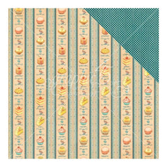 Graphic 45 - Cafe Parisian Double-Sided Cardstock 12 inch X12 inch - Petits Four