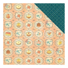 Graphic 45 - Cafe Parisian Double-Sided Cardstock 12 inch X12 inch - Upper Crust