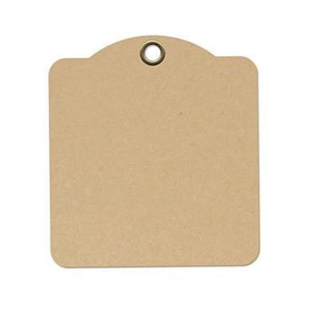 Graphic 45 Staples Square Tag Album 4.5In. X5in.  Kraft