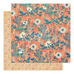 Graphic 45 Sun Kissed Double-Sided Cardstock 12 inch X12 inch - Under the Sea