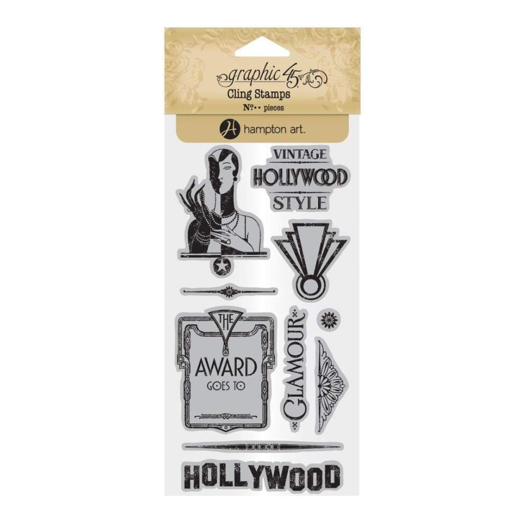 Graphic 45 - Vintage Hollywood Stamps #3