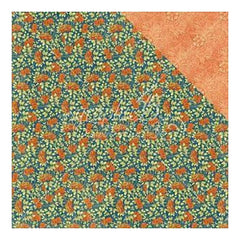 Graphic 45 - World's Fair Double-Sided Cardstock 12Inch X12inch  Flower Power