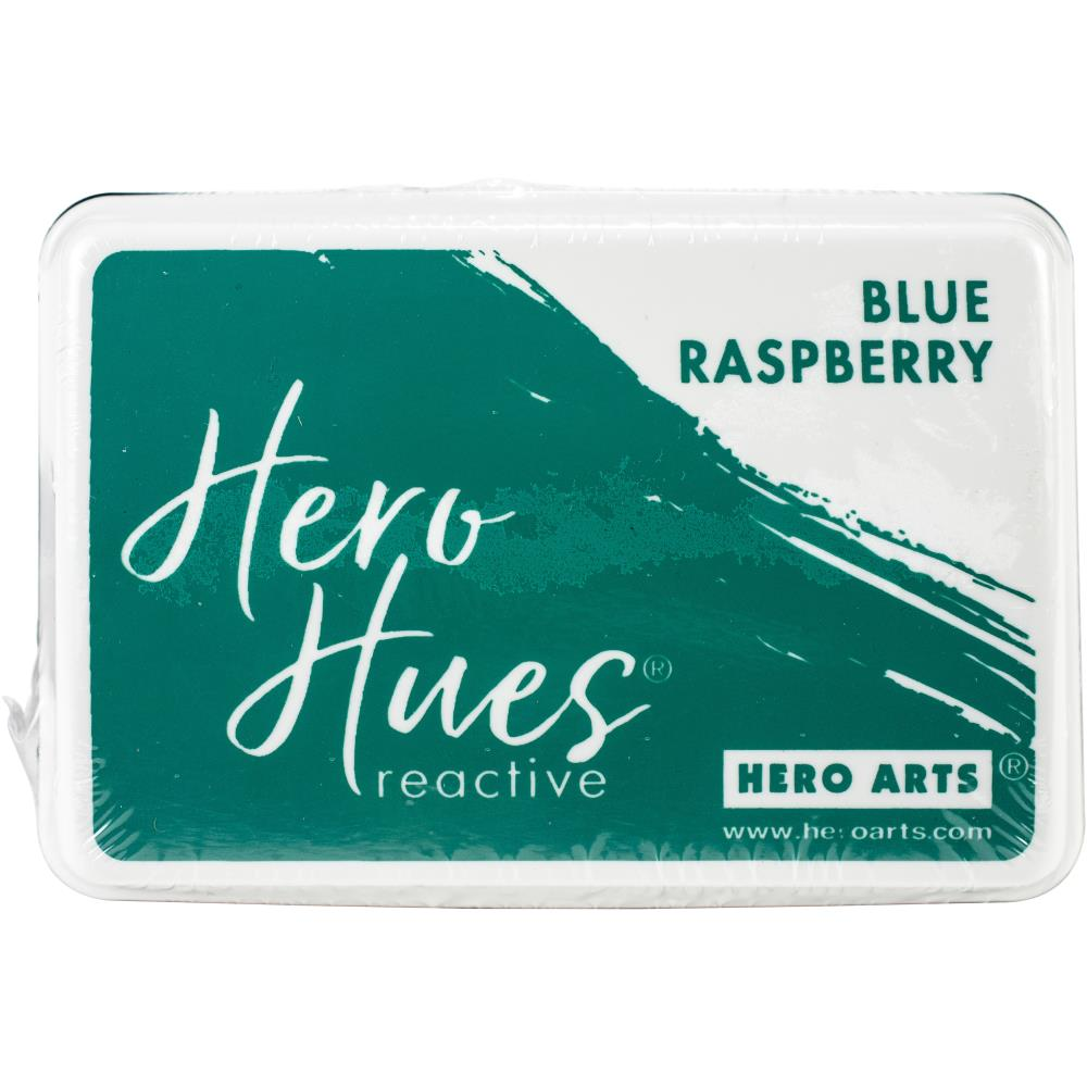 Hero Hues Reactive Ink Pad - Blue Raspberry