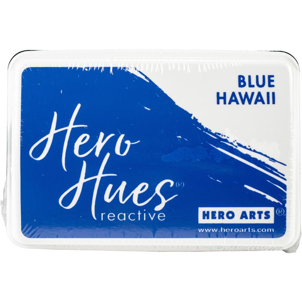 Hero Hues Reactive Ink Pad - Blue Hawaii