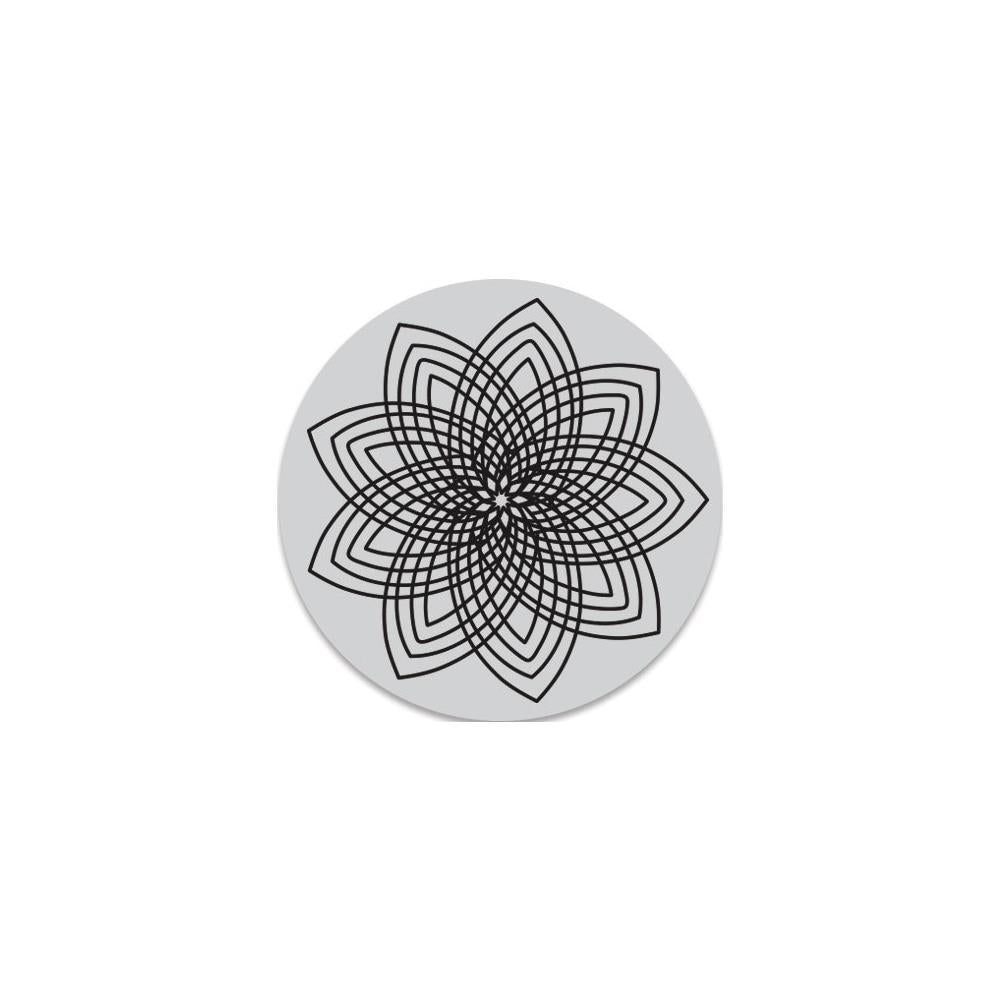 Hero Arts Florals Clings Stamps 3.5 inch X3.5 inch Star Flower