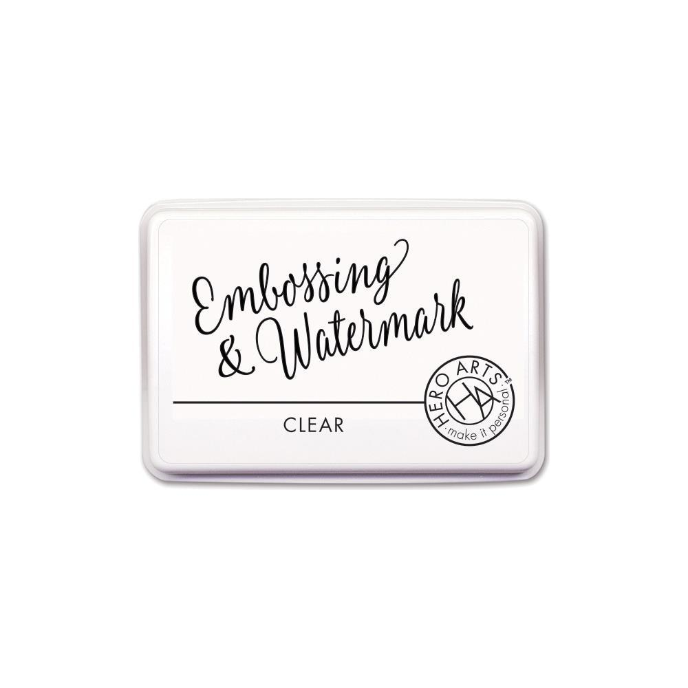 Hero Arts Embossing & Watermark Ink Pad Clear