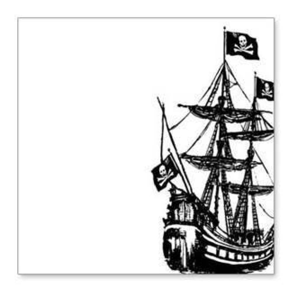 Hambly Screen Prints - Ahoy Matey Overlay - Black (Pack Of 5)